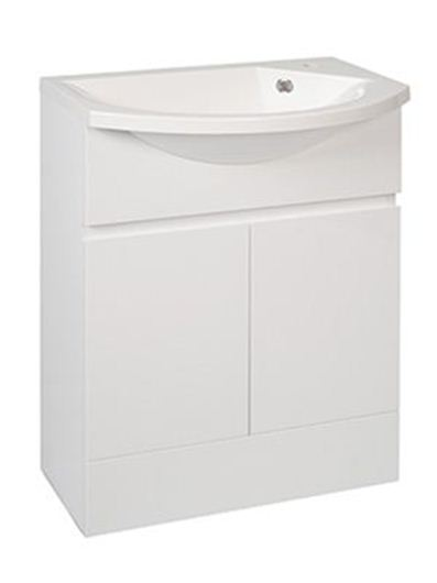 Calypso Liana Slimline 600 Vanity Unit With Art600