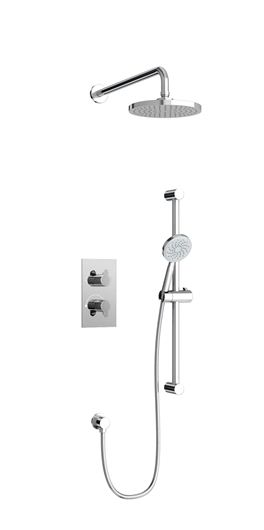 Picture of Concealed Dual Outlet Thermostatic Shower Valve