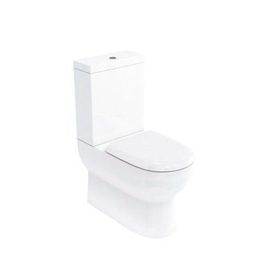 Picture of Compact close coupled WC (back to wall) with Cistern & Soft Close Seat