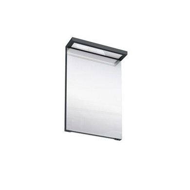 Picture of Britton Black Illuminated Mirror - 500mm