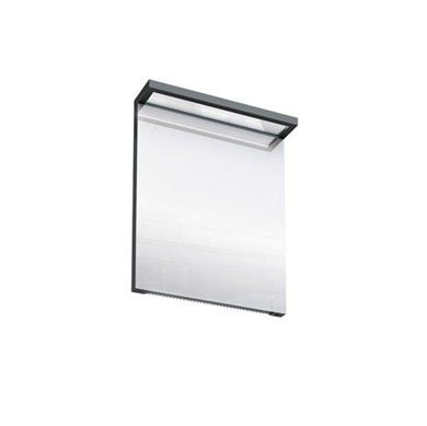 Picture of Britton Black Illuminated Mirror - 600mm