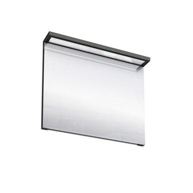 Picture of Britton Black Illuminated Mirror - 900mm