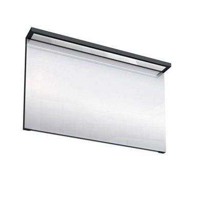 Picture of Britton Black Illuminated Mirror - 1200mm
