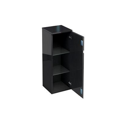 Picture of Aqua D300 single door unit Black