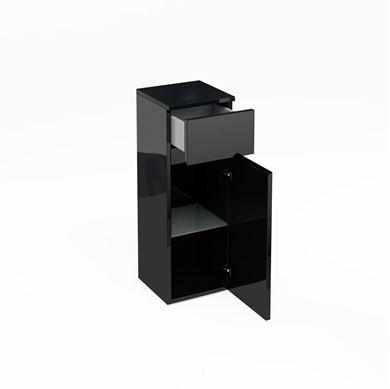 Picture of Aqua D300 drawer and single door unit Black