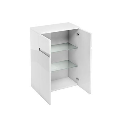 Picture of Britton 600mm Floor Standing Cabinet White Gloss