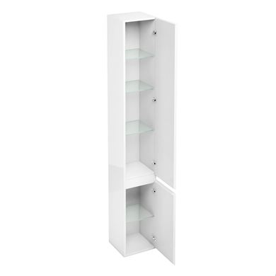 Picture of Britton 300mm Floorstanding Tall Cabinet White Gloss
