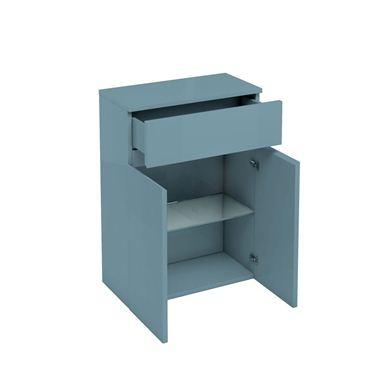 Picture of Aqua D300 drawer and double door unit Ocean
