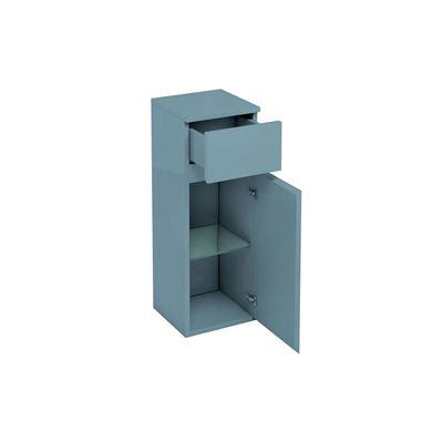Picture of Aqua D300 drawer and single door unit Ocean