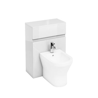 Picture of Britton White D300 back to wall bidet unit