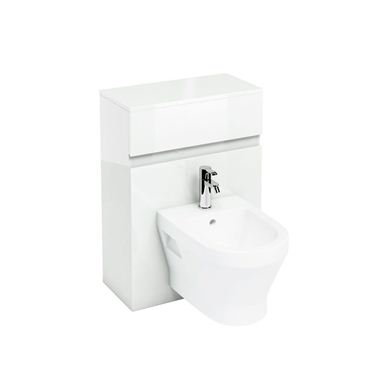 Picture of Britton White D300 wall hung bidet unit