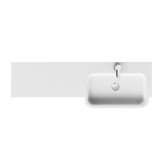 Picture of Britton D300 1200 Quattrocast right handed basin