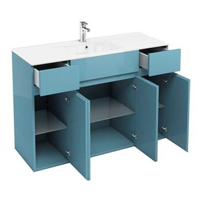 Picture of Aqua Combination D450 Units with 1200 Ceramic Basin - Ocean
