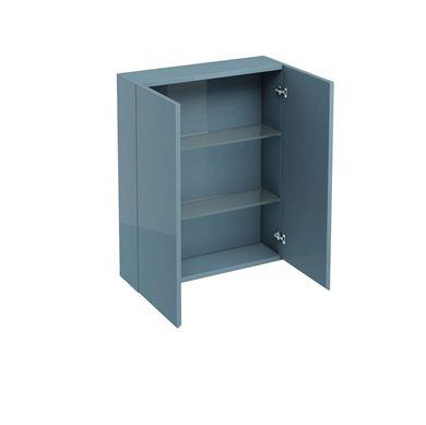 Picture of Aqua 600 double door wall cabinet Ocean