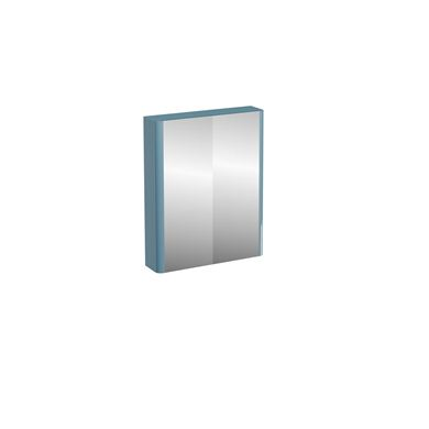 Picture of Compact 60cm double mirrored door wall cabinet Ocean