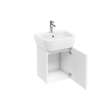 Picture of AquaCUBE wall hung unit 500 basin white