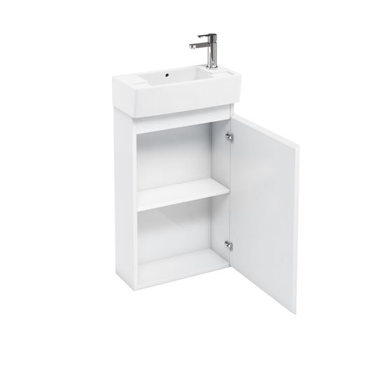 Picture of Aqua Compact 250 floor standing unit and cloakroom basin white