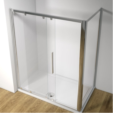 Picture of Kudos Original 1400 Straight Sliding Shower Door