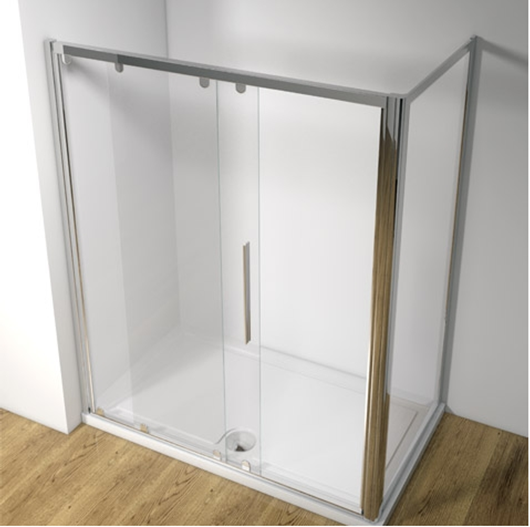 Picture of Kudos Original 1600 Straight Sliding Shower Door