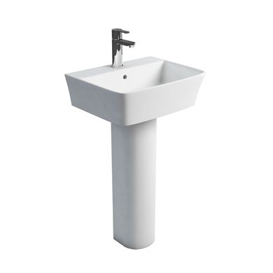Picture of Britton Fine 500mm Basin and Full Pedestal