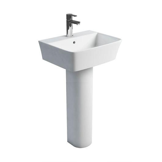 Picture of Britton Fine 500mm Basin & Tall Pedestal