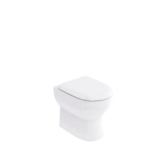 Picture of Britton Compact back to wall pan with soft close seat