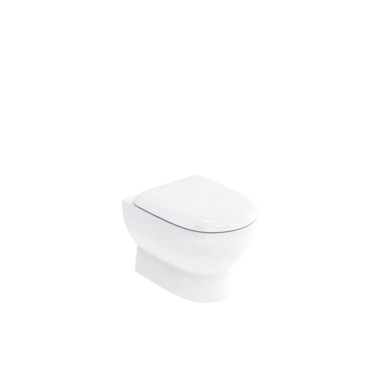 Picture of Britton Compact wall hung pan with soft close seat