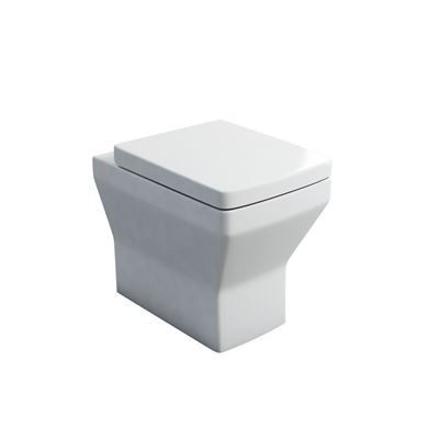 Picture of Britton Cube Back to Wall Pan and Soft Close Seat