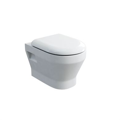Picture of Britton Curve Wall-hung Pan and Soft Close Seat