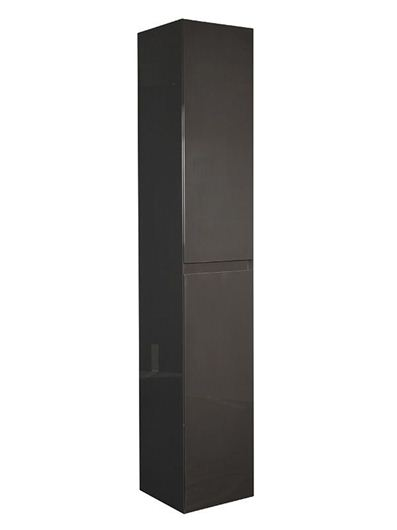 Picture of Calypso Verona 300 High Rise Cupboard - Anthracite Gloss