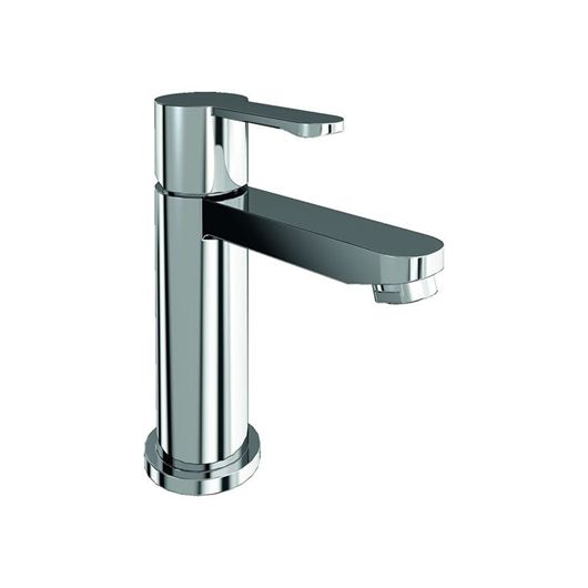 Picture of Britton Crystal Mini basin mixer without pop-up waste
