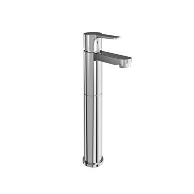Picture of Britton Crystal Tall basin mixer without pop up waste