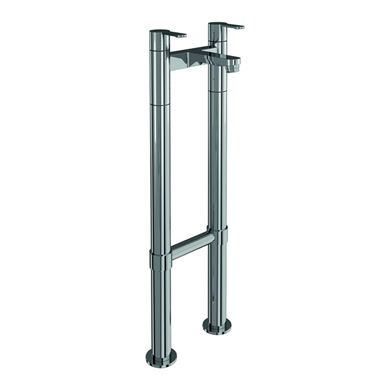 Picture of Britton Crystal Bath filler on stand pipes