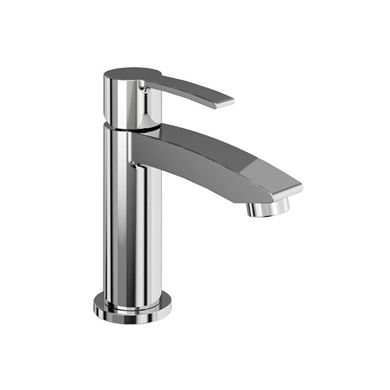 Picture of Britton Sapphire Mini basin mixer without pop-up waste