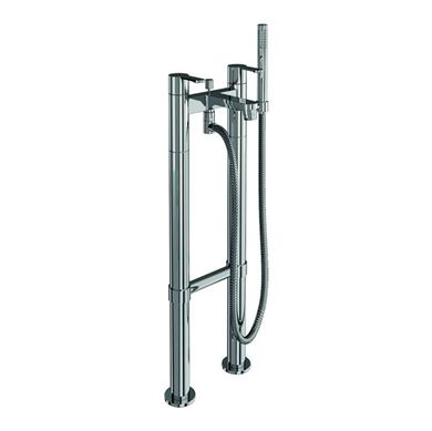 Picture of Britton Sapphire Bath shower mixer filler on stand pipes