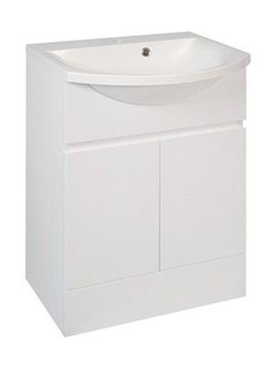 Picture of Calypso Liana 500 Vanity Unit with ART500 Basin - High Gloss White