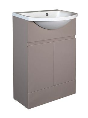 Picture of Calypso Liana 500 Vanity Unit with ART500 Basin - Latte Gloss