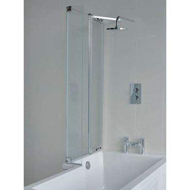 Picture of Cleargreen EcoSquare bathscreen with fixed panel left
