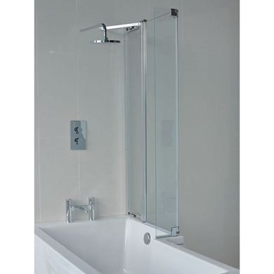 Picture of Cleargreen EcoSquare bathscreen with fixed panel right