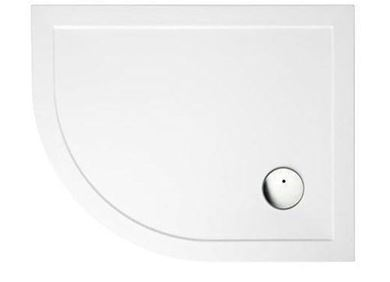 Picture of Zamori Offset Quadrant Shower Tray 900x760mm Left Hand