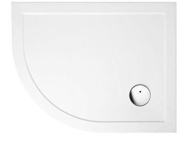 Picture of Zamori Offset Quadrant Shower Tray 900x800mm Left Hand