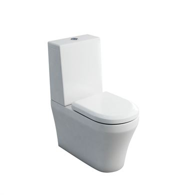 Picture of Britton Fine Close Coupled WC and Soft Close Seat