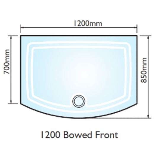 Kudos Concept 2 1200x700 Bow Fronted Shower Tray Brighter Bathrooms