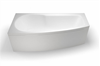 Picture of Cleargreen EcoCurve 1700mm Shower Bath - Left Hand