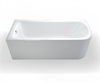 Picture of Cleargreen Viride Offset Bath 1700x750mm - Left Hand
