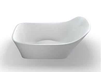 Picture of Clearwater - Nebbia Natural Stone Bath - 1600 x 800mm - N14