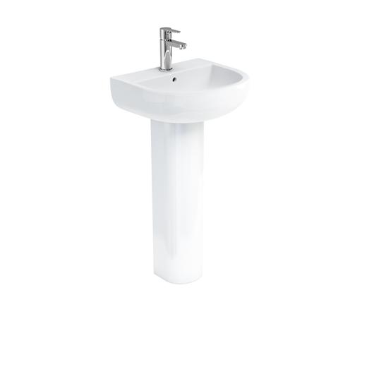 Picture of Britton Compact 45cm Basin & Standard Pedestal