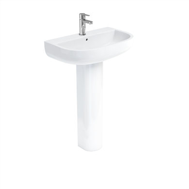 Picture of Britton Compact 65cm Basin & Pedestal