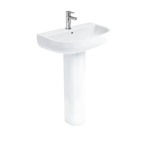 Picture of Britton Compact 65cm Basin & Pedestal